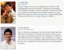 film laga yang dibintangi iko uwais iko uwais masuk deretan 7 besar aktor action imdb tahanan mertua blog