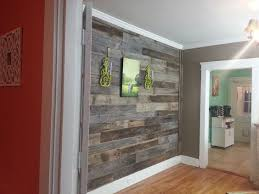 wood flooring on wall 6604