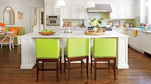southern living kitchens ideas cabinet painted islands for kitchens best painted kitchen island