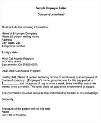 Interior Design Starting Salary Proof Of Employment Letter Employer Income Verification Letter