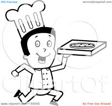 cheese pizza black and white clip art clipart panda free