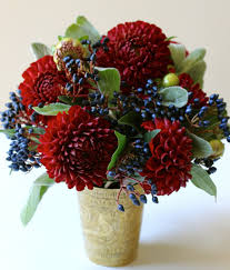red white and blue flowers blue flower arrangements blue