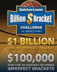 Challenge Yahoo Quicken Loans Billion Dollar Bracket With Yahoo Sports