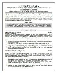 Market Research Resume Examples by Director Of Marketing Resume Example Sample