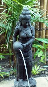 dewi water feature imported from bali www balimystique au