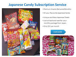 Snacks Delivered Japanese Candy Subscription Service Premium Snacks Delivered