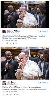 Rap Memes - pope rapping memes are out of control 2oceansvibe com