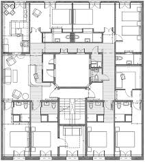 Casa Batllo Floor Plan Zoorooms Guest House Budget Boutique Barcelona Hostal