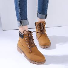 2017 autumn early winter shoes flat heel boots fashion