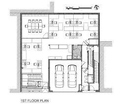 floor plan for office building urban office building 1st floor plan architecture pinterest