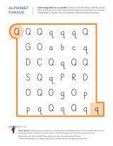 letter q worksheets sparks