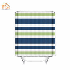 Blue And White Striped Shower Curtain Popular Stripe Shower Curtain Buy Cheap Stripe Shower Curtain Lots