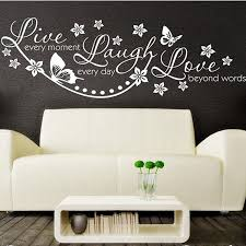 wall stencils for bedrooms vinyl live laugh love wall art sticker lounge room quote decal