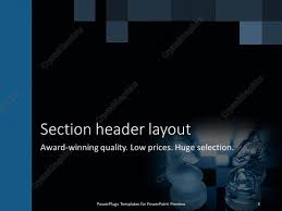 powerpoint templates knights choice image powerpoint template