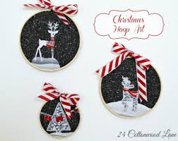 winter u0026 christmas hoop art fun crafts kids