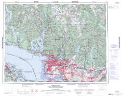 printable topographic map of vancouver 092g bc
