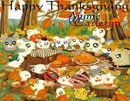 happy thanksgiving wallpaper free hamtaro free anime wallpaper site