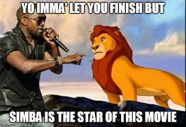 Lion King Meme - kanye west lion king memes imgflip