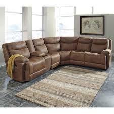Sectional Sofa Bed With Storage by Signature Design By Ashley Valto Reclining Sectional With Storage