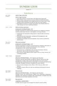 Sample Resume For Oil And Gas Industry by Yoga Instructor Resume Samples Visualcv Resume Samples Database