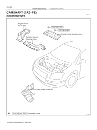 lexus parts manual 1az fse repair manual belt mechanical fuel injection