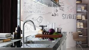 high end kitchen faucets by axor hansgrohe us