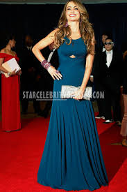 sofia vergara white house correspondent association 2013 navy blue