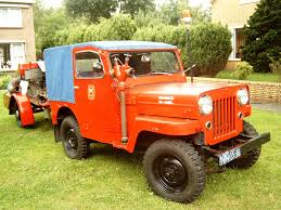 willys jeep truck 1953 willys cj3b jeep fire truck