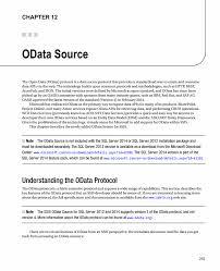 Ssis Developer Resume Sample by Odata Source Springer