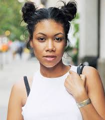 hair buns for hair 7 cool and easy buns that work for hair byrdie
