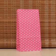 Teh Bubuk 50 pcs striped polka dot kertas hadiah tas teh bubuk kacang kue