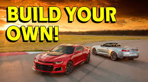 your own camaro 2017 camaro zl1 build your own and praise the pricing car gods