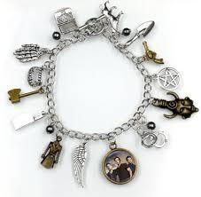 charm bracelet supernatural charm bracelet new supernatural stuff