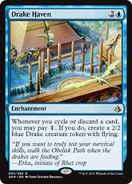 deck tech white blue cycling magic the gathering
