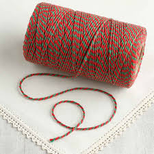 red and green bakers twine wire string basic craft