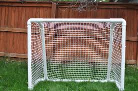 diy lacrosse goal hoagie central diy soccer hockey goal