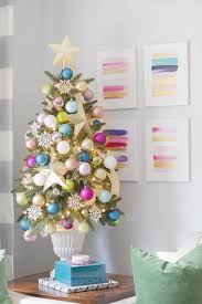 ideas for classic christmas tree decorations happy best 25 small artificial christmas trees ideas on