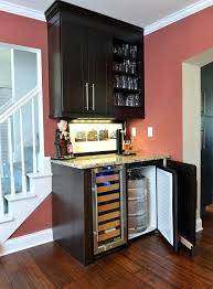 built in wine bar cabinets wine bar cabinet with refrigerator and cabinets top reviewed