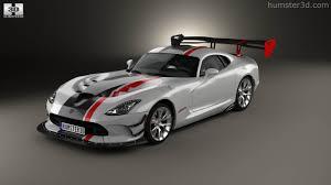 Dodge Viper 2016 - 360 view of dodge viper acr 2016 3d model hum3d store