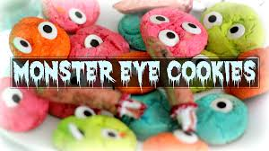 easy halloween monster eye cookie only 25 minutes to bake and