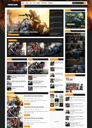 templates blogger español 34 best free gaming responsive blogger templates techclient