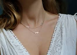 small name necklace miracle solid gold name necklace best necklace