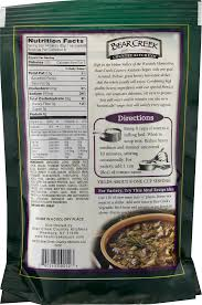 bear creek country kitchens vegetable beef soup mix 9 0 oz