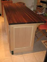 prefabricated kitchen islands diy kitchen island from stock cabinets great do it yourself