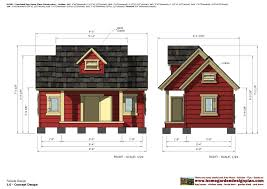 Dog House Floor Plans Home Garden Plans Dh301 Insulated Dog House Plans Dog House
