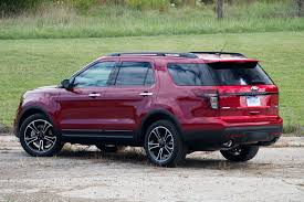 2013 ford explorer review driven 2013 ford explorer sport winding road