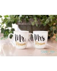 wedding gift mugs don t miss this deal pair of personalized mr mrs coffee mugs 2