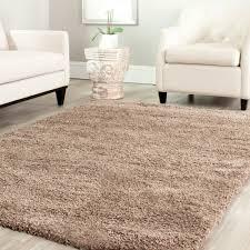 Taupe Color Safavieh Power Loomed Taupe Plush Shag Area Rugs Sg151 2424 Ebay