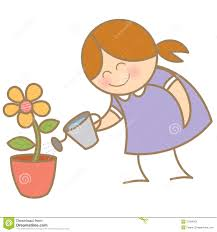 Small Flower Pot by Water Small Flower Pot Stock Image Image 27994051