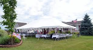 west michigan tent rentals west michigan event tent rentals